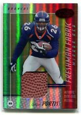 2002 LEAF CERTIFIED CLINTON PORTIS MIRROR RED BALL RC 131/250