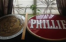 "PHILLIES CIGAR & Antonio y Cleopatra METAL SIGNS-BRAND NEW! RARE ""FREE SHIPPING"""