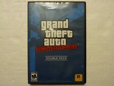 Grand Theft Auto: Liberty City Stories (PlayStation 2, 2006) Ps2 Complete w/ Map