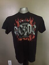 Acdc Hells Bells Mens Band T Shirt Size Large D7