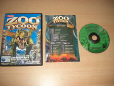 Zoo Tycoon 1 Dinosauro camera ammobiliata add-on pacchetto di espansione PC CD ROM DINO Post veloce