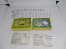 PANINI SPONGE BOB SQUAREPANTS 2011 Complete Loose Set of 216 Stickers