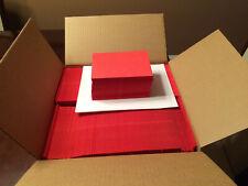 "1,000 Red A6 Envelopes - 6.5"" x 4.75"" - Square Flap"
