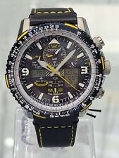 New Citizen Men's Eco-Drive Radio Controlled Blue Angels JY8078-01L $650 Watch