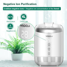 Weoola Air Purifier for Home w/ Fan Speeds, Timer, Filter 12H Timing New Us