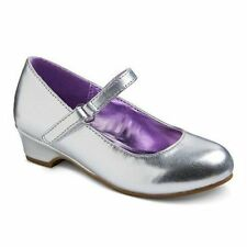 NWT Silver Dress Shoes Cherokee Darienne Toddler 6