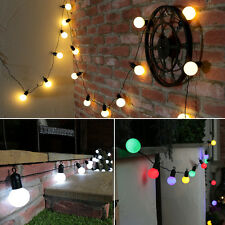 5M INDOOR OUTDOOR GARDEN WEDDING CHRISTMAS FESTOON GLOBE FAIRY STRING LED LIGHTS