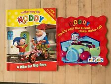 2 Enid Blyton Books Noddy and the Great Cake Bake-Off A Bike for Big-Ears PB