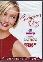 3 Dvd Box Cofanetto CAMERON DIAZ COLLECTION ~ KNIGHT AND DAY+TUTTI PAZZI PER ..