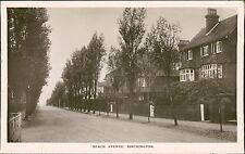 Beach Avenue Birchington on Sea, Kent RP Postcard posted 1911 QS.1216
