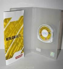 METAL GEAR ACID 2 GIOCO USATO SONY PSP EDIZIONE UK KONAMI PRIMA STAMPA FR1 32553