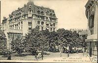 73 - cpa - AIX LES BAINS - Place des Bains