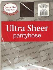 ultra sheer panty hose pantyhose stocking Q FRAN COFFEE
