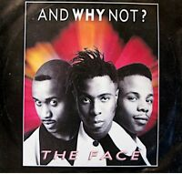 ++AND WHY NOT ? the face/let me hear it SP 1989 ISLAND VG++