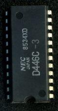 LOT DE 4 MEMOIRES RAM STATIQUE 2k x 8 BITS PARALLELES NEC D446 / 6116 EQUIVALENT