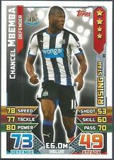 TOPPS MATCH ATTAX 2015-16- #RS11-NEWCASTLE UNITED-RISING STAR-CHANCEL MBEMBA