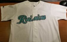 Vintage Tacoma Rainiers Majestic Authentic Apparel Baseball Jersey L