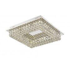 Deckenleuchte LED Deckenlampe Lampe Design Kristall LED Leuchte Kristalllampe