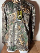Under Armour Men's Long Sleeve Realtree Camo Button Up
