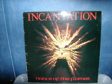 Incantation-Dance of the flames LP 1983 German issue