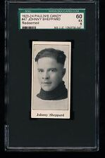 1923 V128-1 Paulin's Candy JOHNNY SHEPPARD #47 SGC 60 5