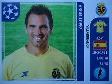 Panini 25 Angel Lopez Villarreal CF UEFA CL 2011/12