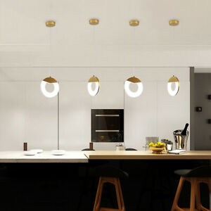 LED Ceiling Lamp Dinning Room Pendant Hanging Chandeliers Surface Mount Light