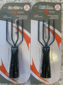 2 Packs South Bend Frog Gig Spear 4 Tine