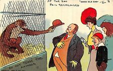 POSTCARD  COMIC   TOM  BROWNE   GOOD  OLD  DAD