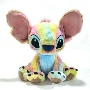 "Disney Lilo and Stitch Rainbow colorful ""Stitch""  Plush Toy 30cm"