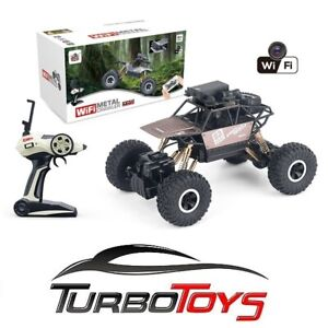 NEW - RC 1/18 METAL BODY ROCK CRAWLER WITH WIFI CAMERA - RECHARGEABLE -AUS STOCK