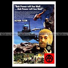 #phpb.001700 Photo ACTION TEAM GI JOE GEYPERMAN ACTION MAN 1977 Advert Reprint