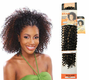 WATER WAVE MODEL MODEL GLANCE SYNTHETIC HAIR EXTENSION FOR BRAID