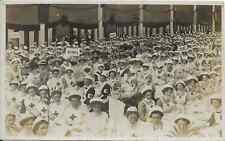 More details for nottinghamshire, nursing, rare photo postcard, large group of nurses at event