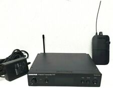 Shure Psm300 P3T H20 head phones Transmitter and P3R H20 Receiver - Pro Owned!
