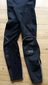 Gore Bike Wear Windstopper Thermal Bib Leggings L winter weight - no pad