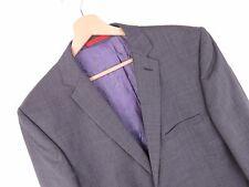 kd711 Ted Baker ENDURANCE Giacca ORIGINALE Premium Misto lana grigio taglia 40
