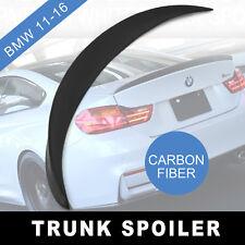 For Carbon Fiber Trunk Spoiler BMW F10 520i 528i 535i 535d 550i M5 Wing Lip Car