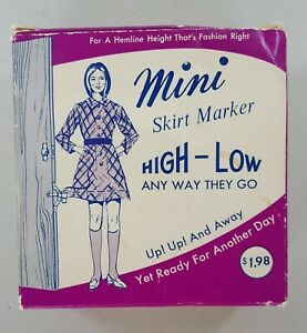 Vintage Orco Products Mini Skirt Marker High-Low Made In Dayton Ohio USA