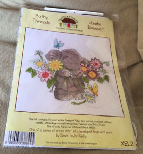 Bothy Threads Cross Stitch Kit - Jumbo Bouquet