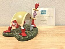 "WDCC DISNEY CARD PAINTER ""PLAYING CARD"" ALICE IN WONDERLAND FIGURE FIGURINE COA"