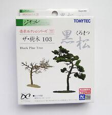 Tomytec N Scale The Zyumoku Tree 103 Kuramatsu Diorama Black Pine Tree