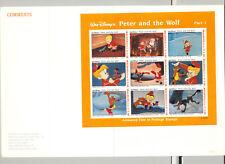 Maldives #1925-1928 Disney 2v M/S of 9 & 2v S/S Imperf Proofs in 4 Folders