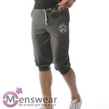 Gr. XL Sporthose Jogginghose Knielang  Trainingshose Fitnesshose Sport Grau SALE