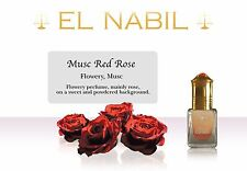 Musc Red Rose - El Nabil Musc Luxury Atar Oil Perfume Roller Free From Alcohol