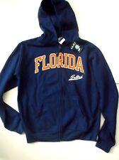 NEW NIKE FLORIDA GATOR BLUE HOODIE YOUTH LARGE FLEECE SEWN ON 16 18