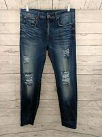 G-STAR Raw Men's 3301 Straight Leg Button-Fly Distressed Denim Jeans - 33 x 33
