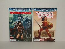 Wonder Woman 2016 Rebirth #1A + #1B (NM or 9.4) - Sold Out!
