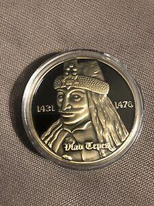 Romania Transilvania Bran Castel Dracula Coin