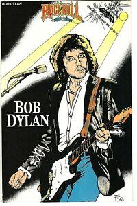 """Rock N'  Roll Comics #51 (1992)  VF 1st Printing  """"Bob Dylan""""  Sanford"""